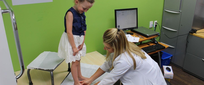 L'examen biomécanique pour enfant: à quoi s'attendre