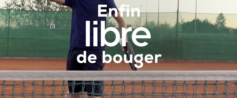 Libre de bouger: du barbecue au terrain de tennis