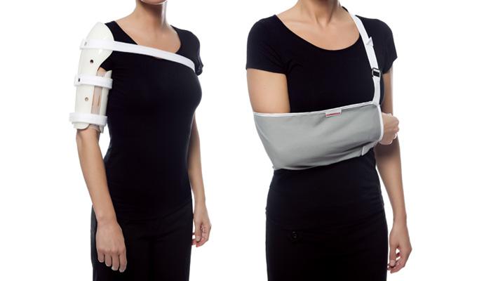 Orthèse immobilisatrice épaule