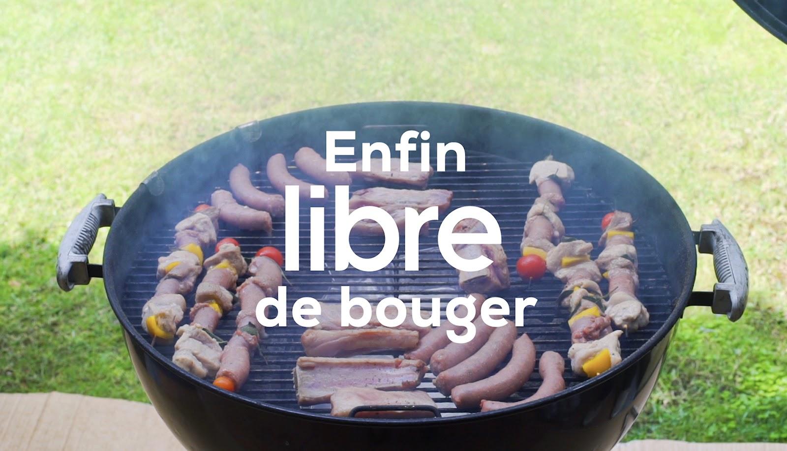 libre bouger barbecue