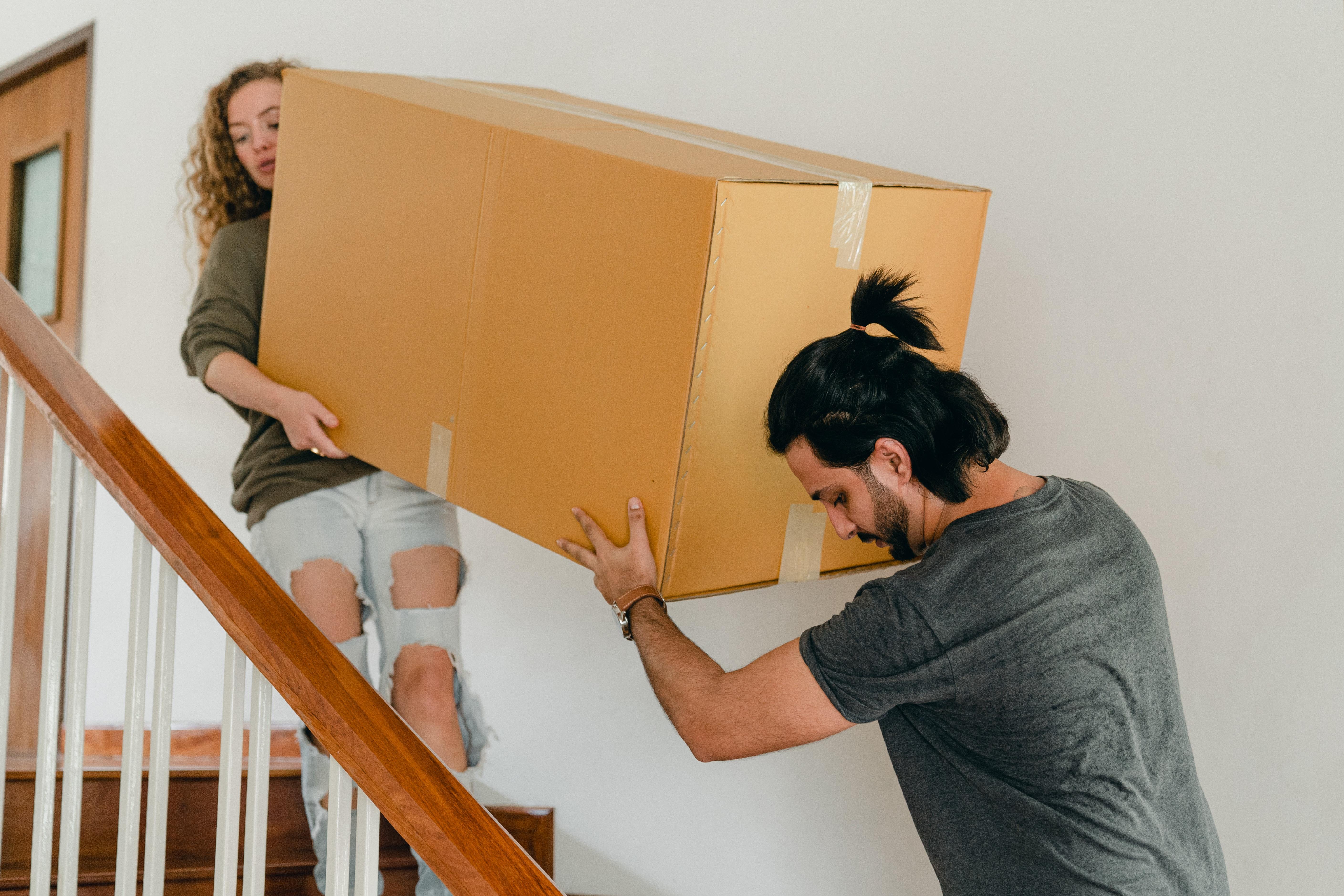 déménagement sans blessures